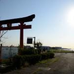 ポタリング 早朝スケジュールで多摩サイを下り羽田の大鳥居まで行ってきた