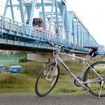 ポタリング 京急六郷土手駅近くの川橋で痛恨のピンぼけをやらかす