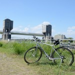 ポタリング 多摩川の氾濫を防ぐ美しくも巨大な堰と水門に出会った