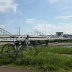 汗だくのポタリングで鶴川街道の多摩川原水道橋と多摩川原橋に遭遇