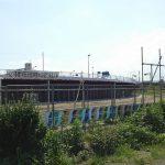 稲田多摩川公園付近で樋門築造工事だと?見慣れた景色の変貌ぶりに驚く