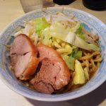 ラーメン陸(尾山台店)で極太麺と絶品豚のコラボレーションを堪能